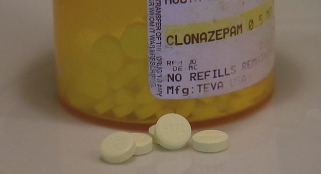 Klonopin one mg