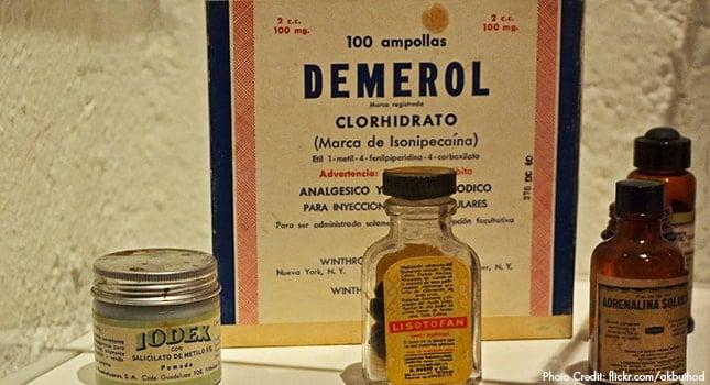 Demerol use, abuse, and addiction