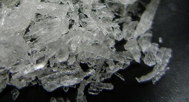 Methamphetamine and amphetamine