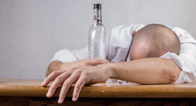 Drug or alcohol addiction and depression