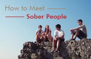 Sober Living Meeting Other People Who are Sober