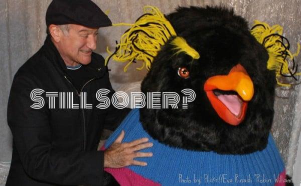 A Sober Robin Williams Checks into Rehab