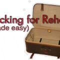 Packing for Rehab Made EASY