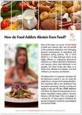 How do Food Addicts Abstain from Food